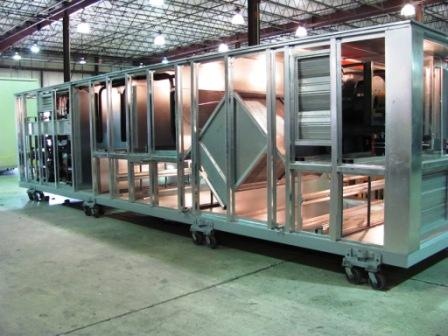 Custom Package DX with Plate Heat Exchanger energy recovery